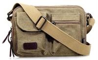 2014 new high quality men and women canvas messenger bag shoulder bag leisure bag fashion handbags wholesale