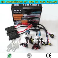 HID conversion Xenon KIT Single Beam Bulb Car Headlamp Light H1, H3, H4-1, H7, H8, H9, H10 12V 55W AC Silm Ballast