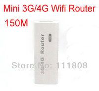 Portable Mini Wireless 3G wifi Router Hotspot 150Mbps Wifi Hotspot support 3G USB modems