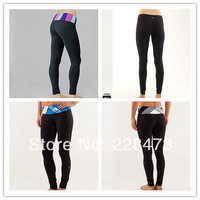 New Arrival  Wholesale retail New designer brand LULULEMON pants Cheap Yoga lulu lemon yoga pants Size 2 4 6 8 10 12