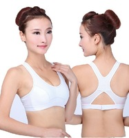 Woman Shockproof Sports Bra Crop Top Ginastica Vest for Yoga Running Fitness Wireless Comfortable Ladies Brassiere Drop shipping